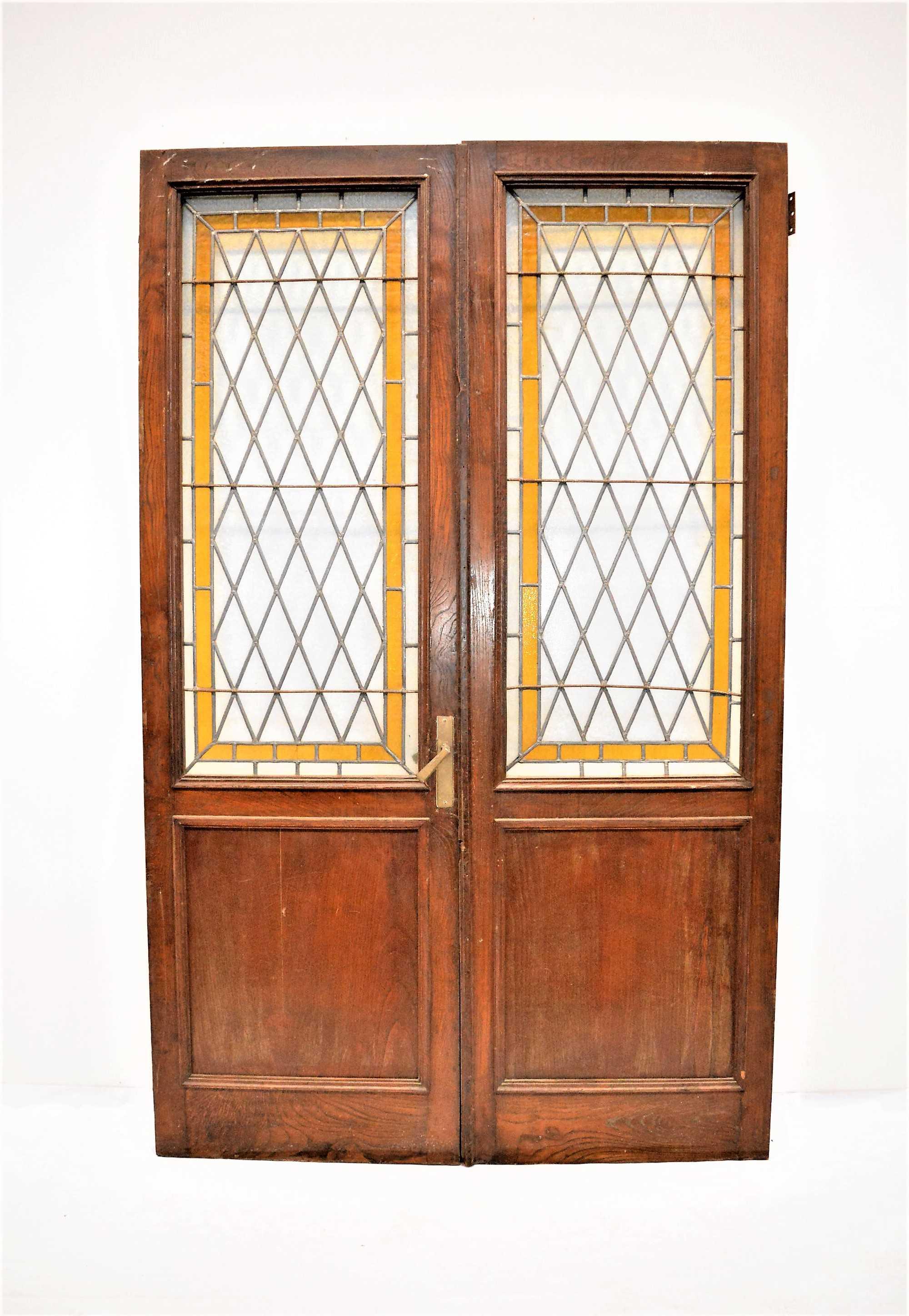 Puertas Madera Y Cristal Good Puertas Lisas Con Rayados  ~ Cristales Para Puertas De Madera