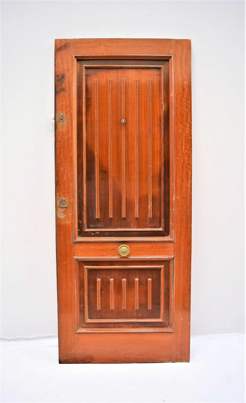 Puerta de entrada de madera - Puertas de madera de entrada ...