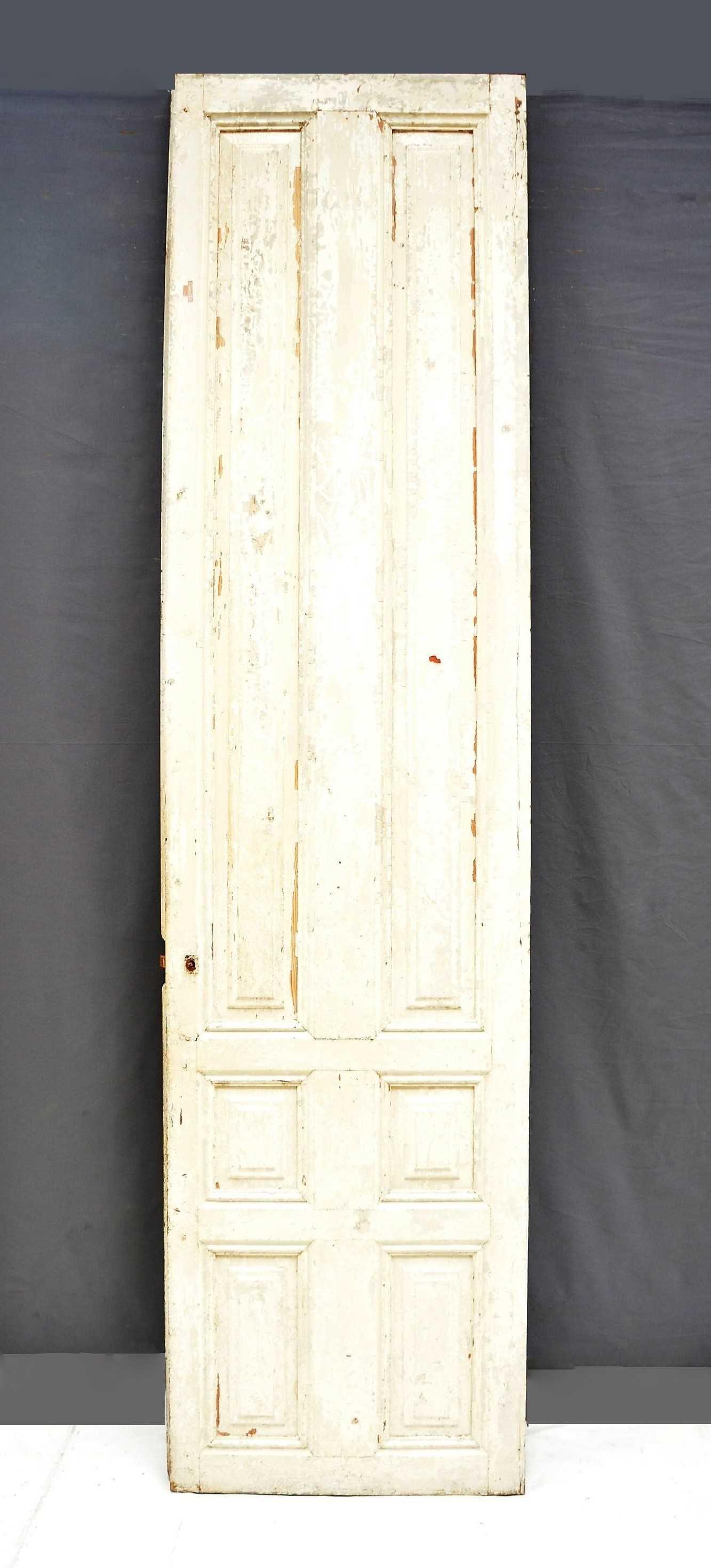 Puerta de madera blanca for Puertas de madera blancas